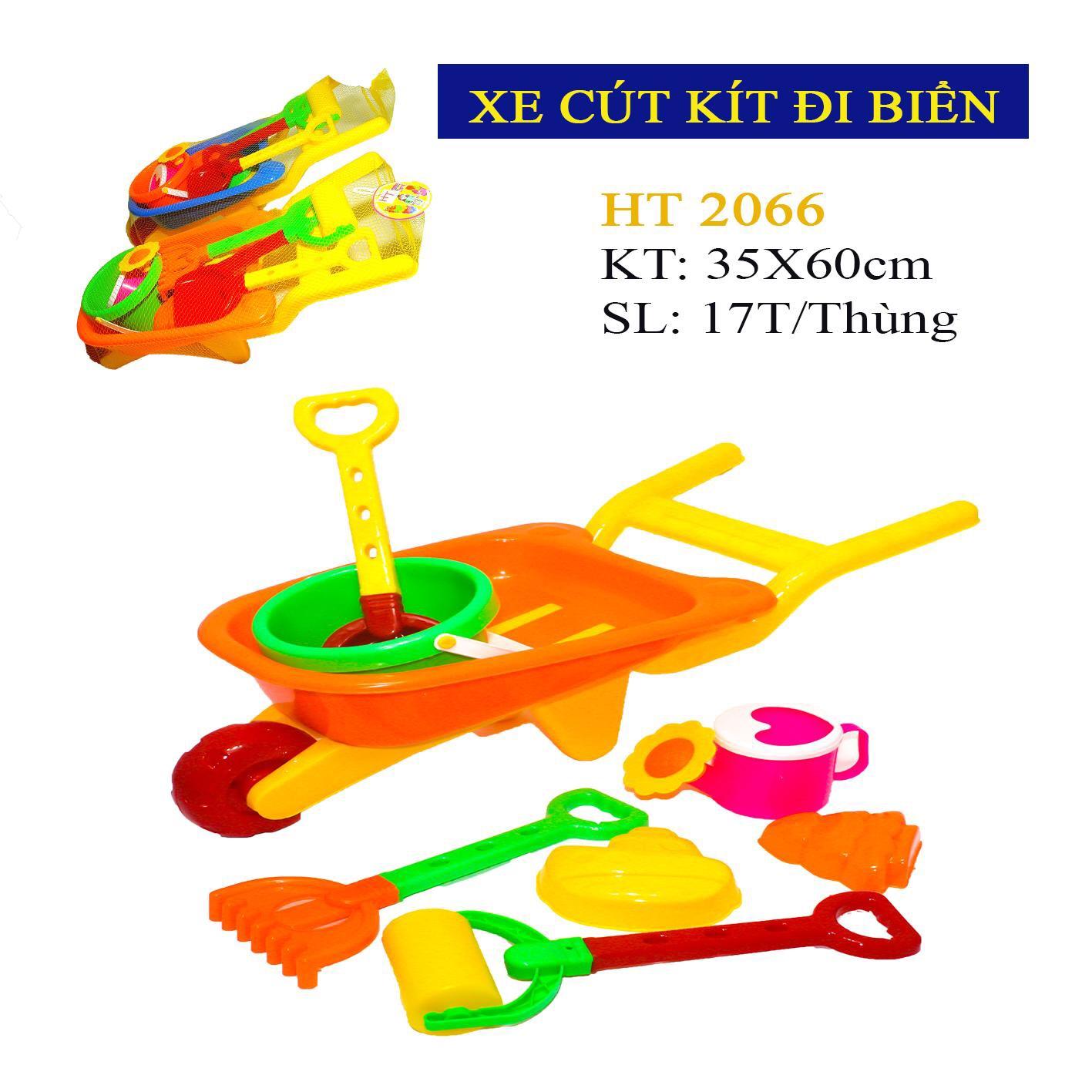 Bộ đồ chơi xe cút kít HT 2066