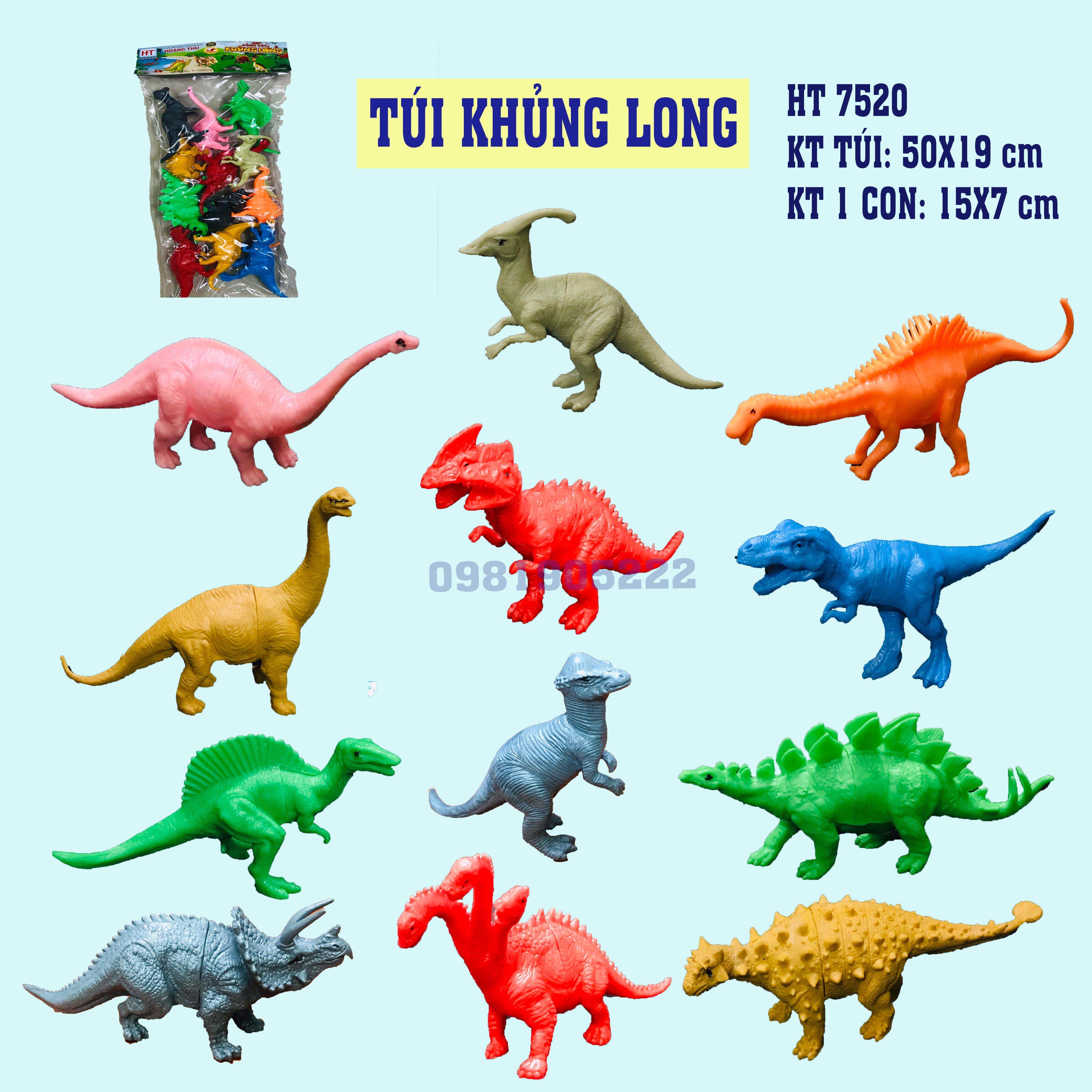 BỘ SƯU TẬP KHỦNG LONG HT 7519 – HT 7520